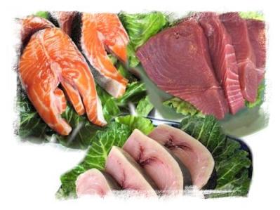 Ryby a rybí maso - kalorie