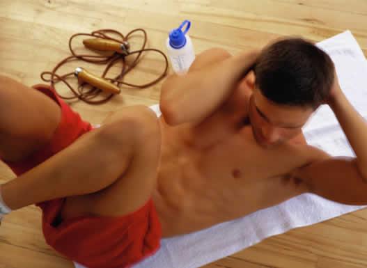 Cviky a cvičení - břicho a břišní svaly