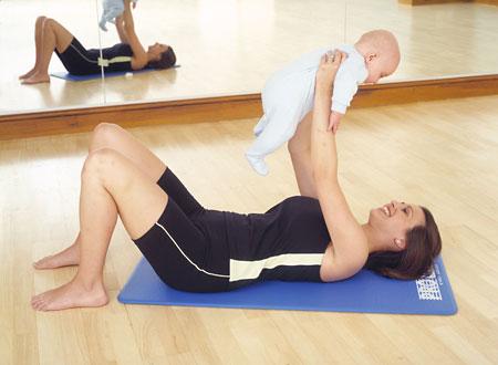 Hubnutí po porodu - cviky a cvičení