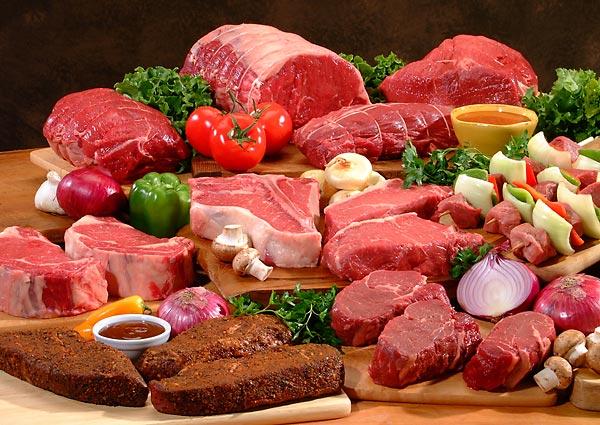 Kalorie maso - kalorická tabulka