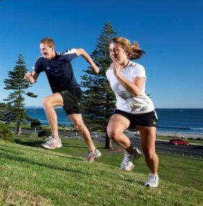 Sport a kalorie - kalorická tabulka