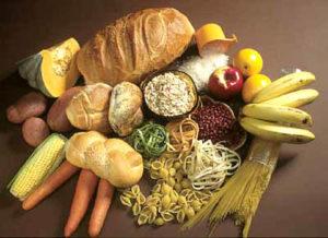 Potraviny, kalorie, pečivo