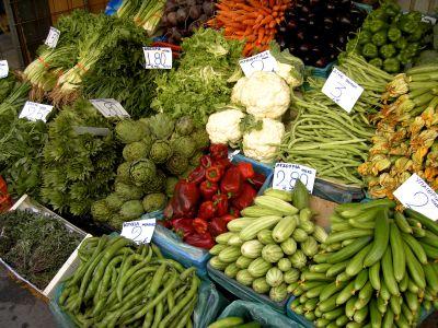 Zelenina a nízké kalorie = dietní jídelníček