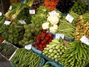 Dietní potraviny - zelenina