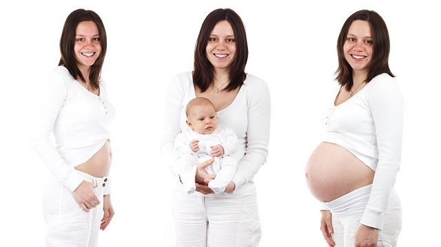 Hubnutí po porodu může být náročné