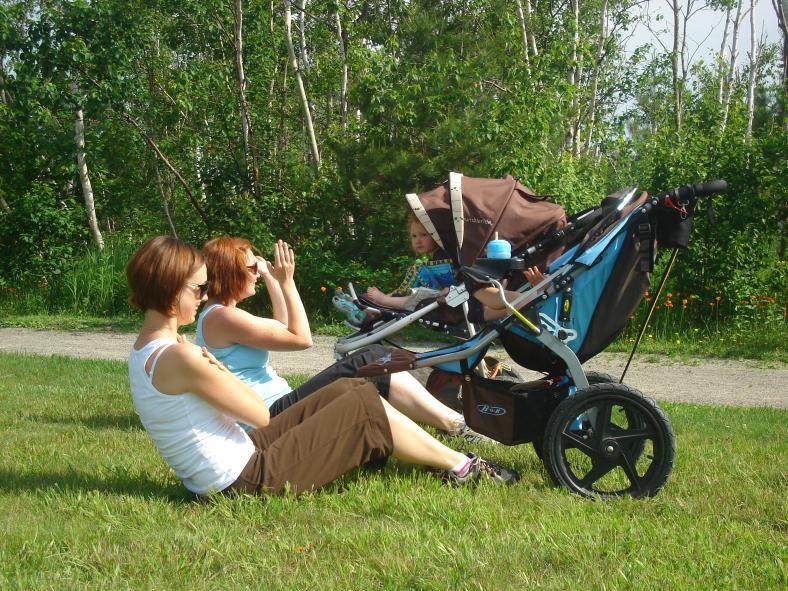 Jak zhubnout po porodu břicho? Cviky a cvičení na břicho.