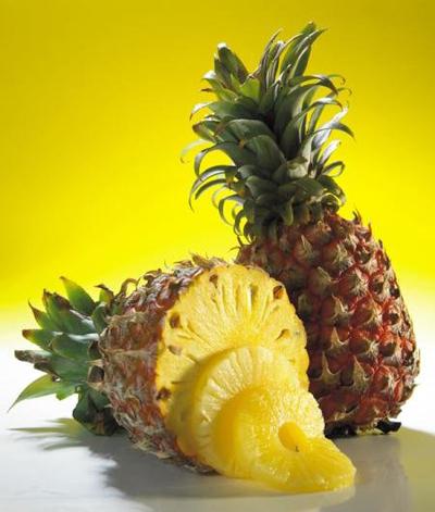 Recept dieta modelek - ananas, kiwi, hroznové víno