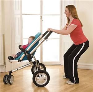 Jak zhubnout břicho po porodu? cviky a cvičení